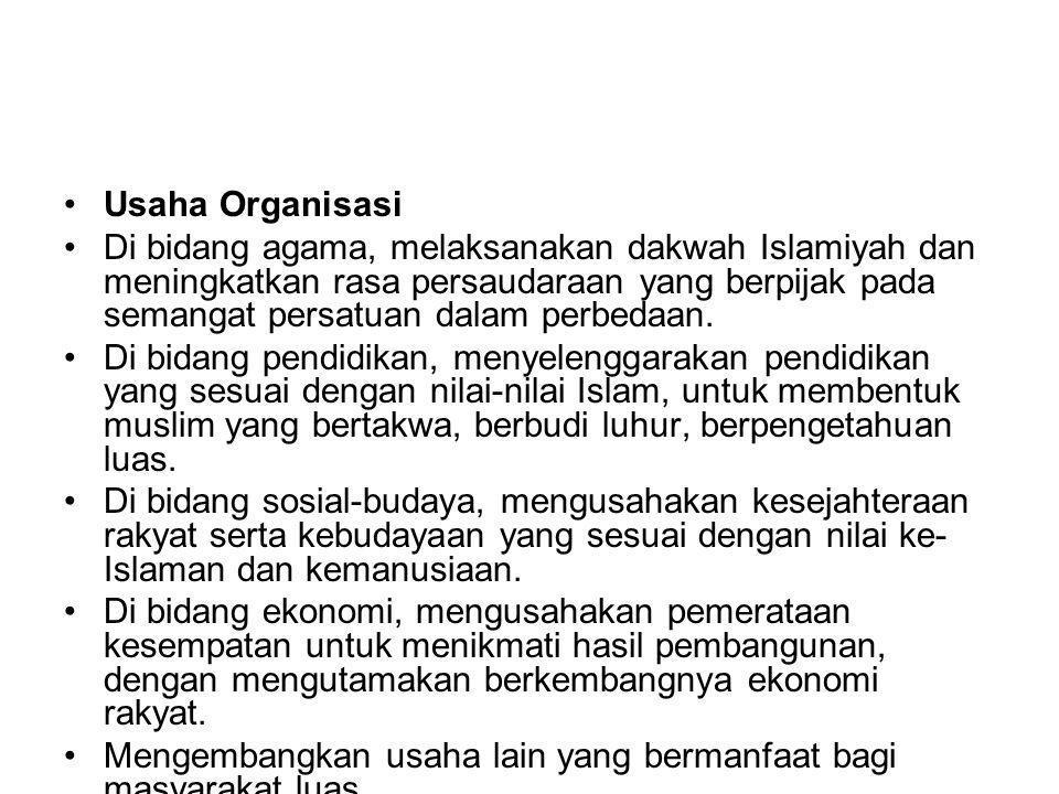 Usaha Organisasi