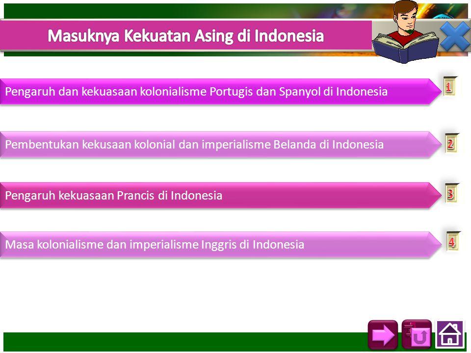Masuknya Kekuatan Asing di Indonesia