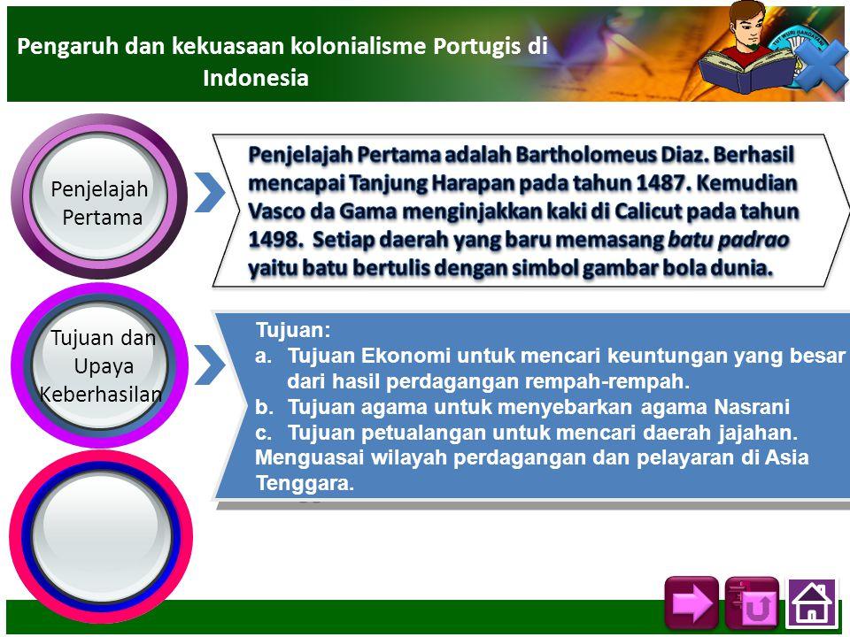 Pengaruh dan kekuasaan kolonialisme Portugis di Indonesia