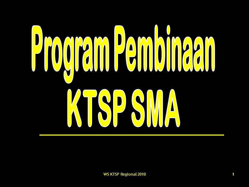 Program Pembinaan KTSP SMA