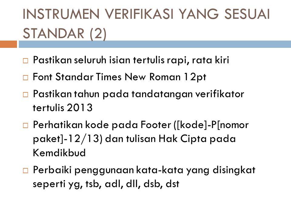 INSTRUMEN VERIFIKASI YANG SESUAI STANDAR (2)
