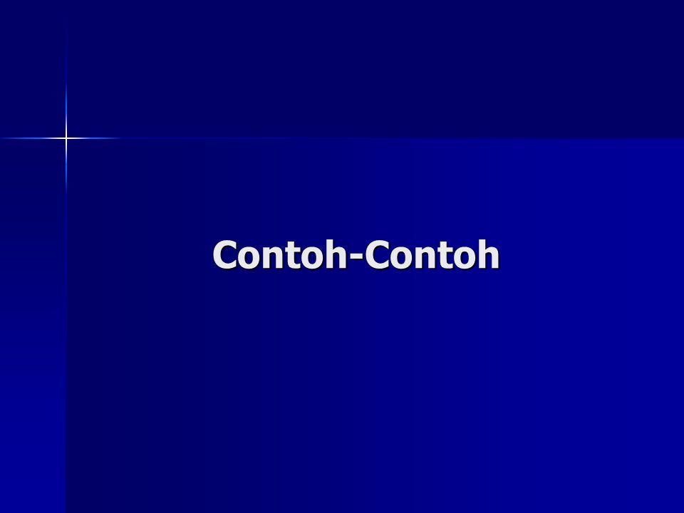 Contoh-Contoh