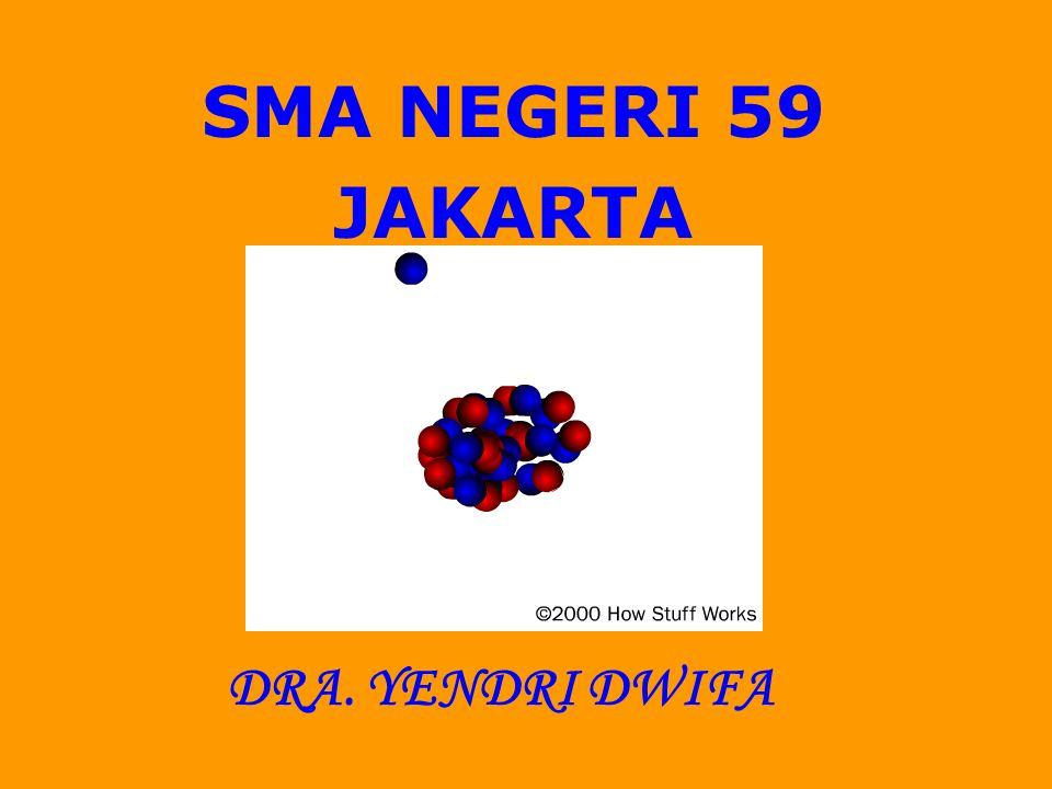 SMA NEGERI 59 JAKARTA DRA. YENDRI DWIFA
