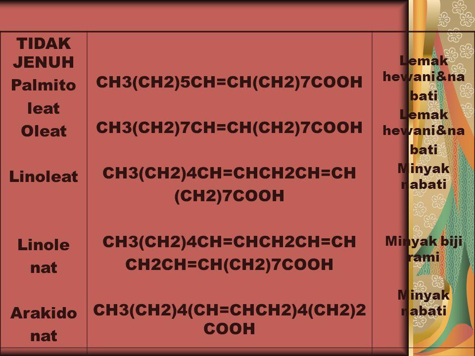 CH3(CH2)4(CH=CHCH2)4(CH2)2COOH