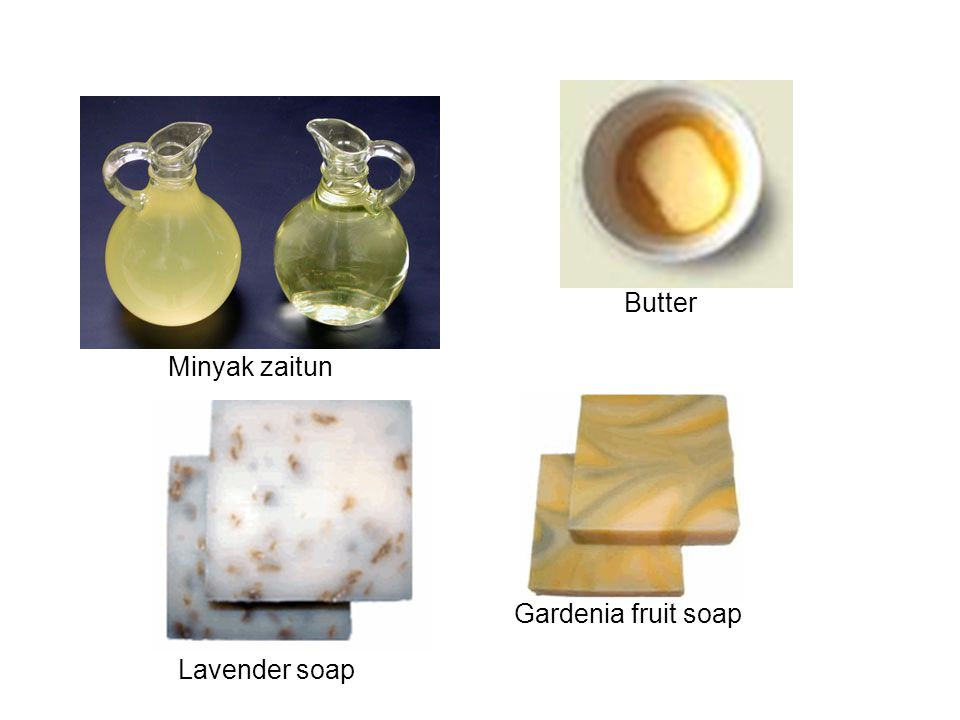 Butter Minyak zaitun Gardenia fruit soap Lavender soap