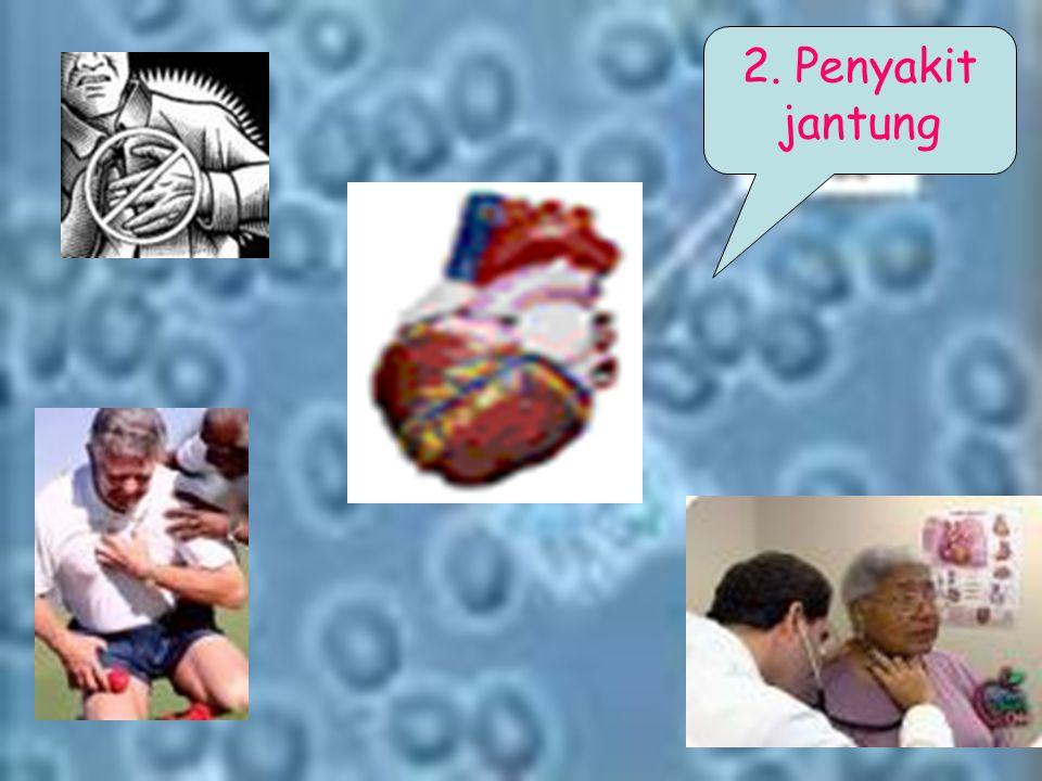 2. Penyakit jantung