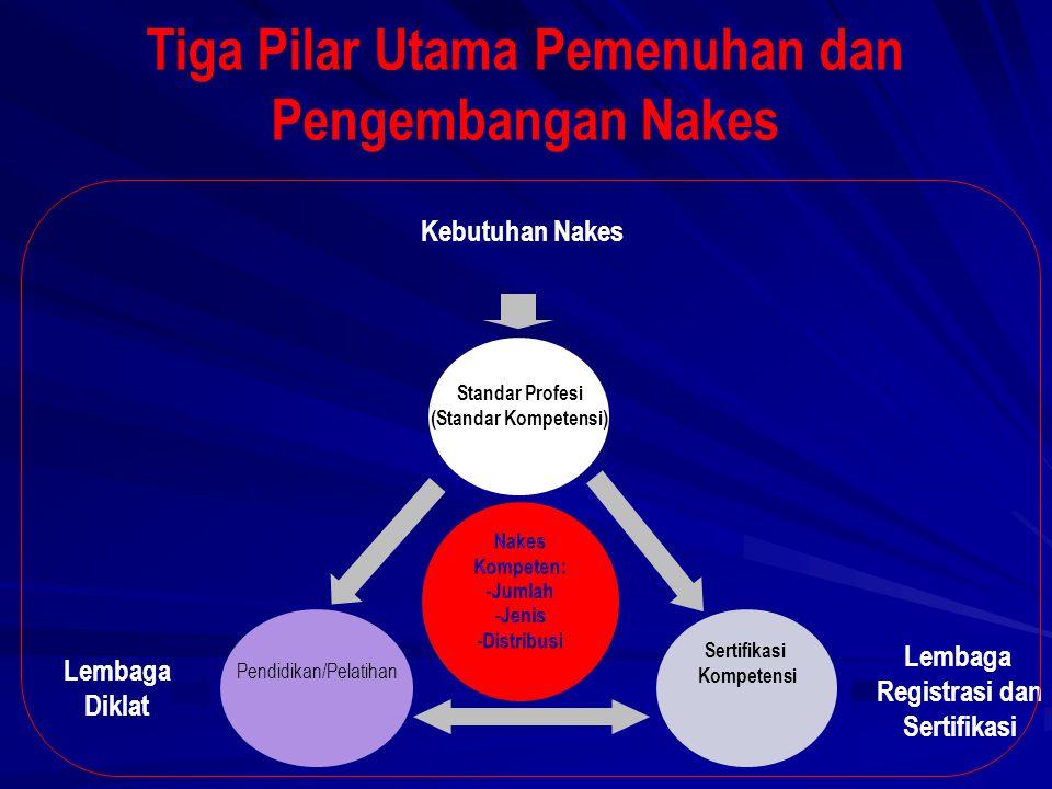 Tiga Pilar Utama Pemenuhan dan Pengembangan Nakes
