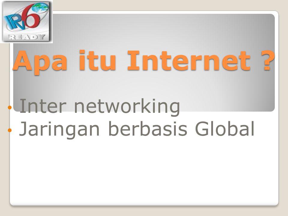 Inter networking Jaringan berbasis Global