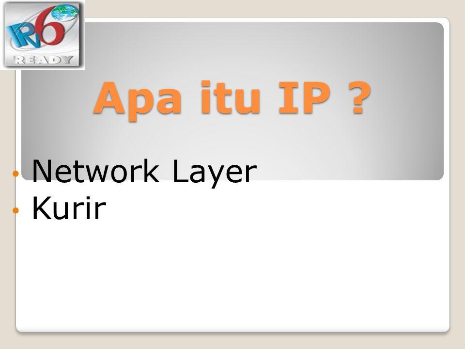 Apa itu IP Network Layer Kurir