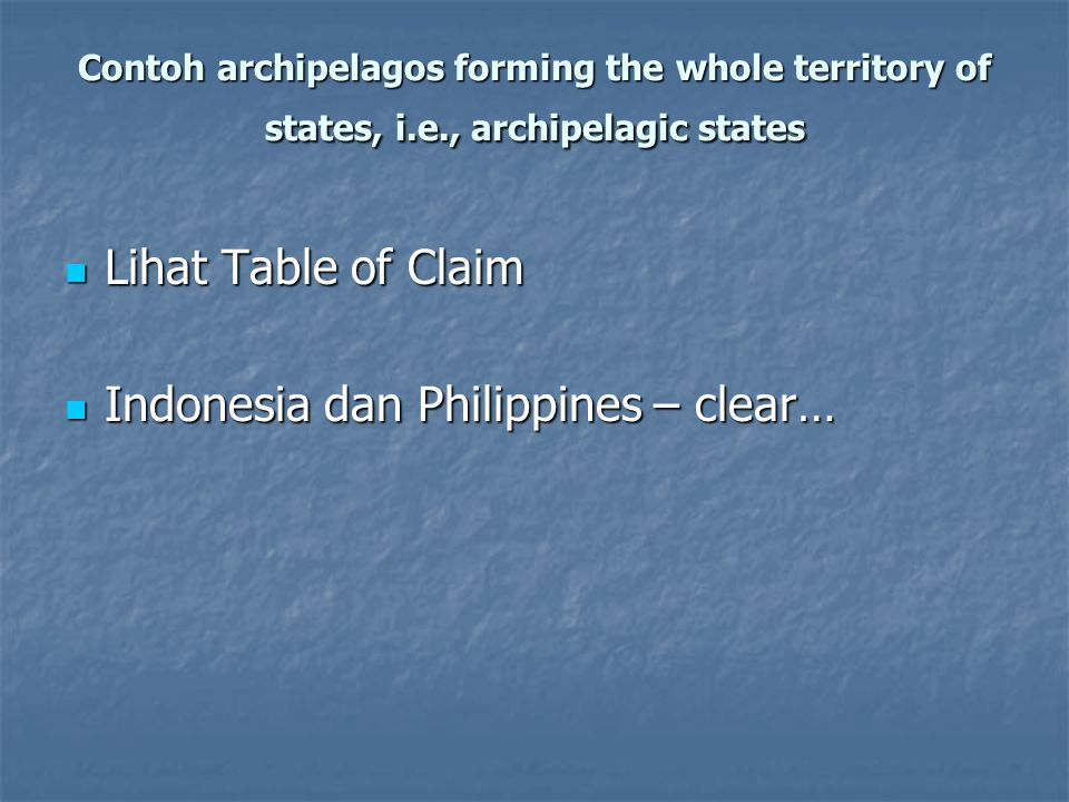 Indonesia dan Philippines – clear…
