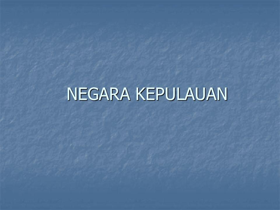 NEGARA KEPULAUAN