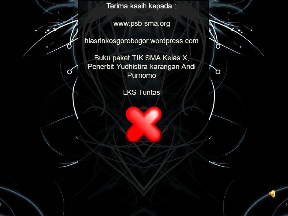 Buku paket TIK SMA Kelas X, Penerbit Yudhistira karangan Andi Purnomo