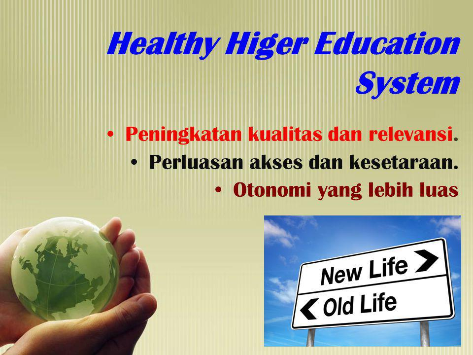 Healthy Higer Education System