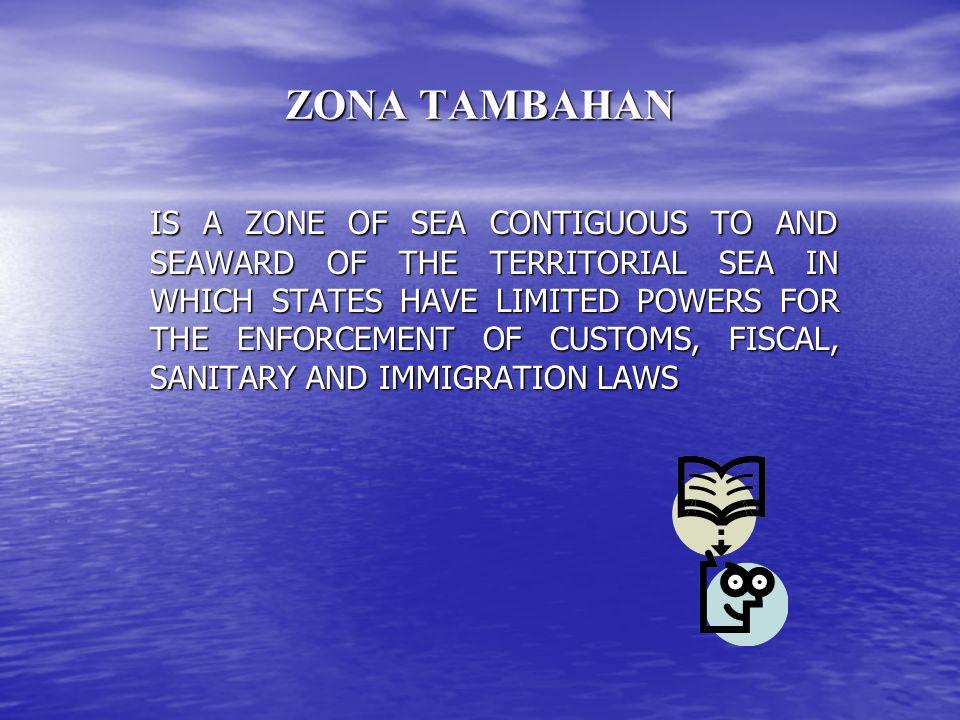 ZONA TAMBAHAN