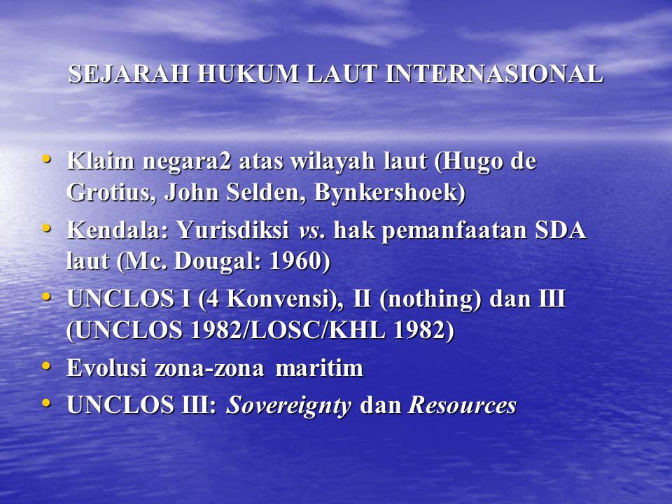 SEJARAH HUKUM LAUT INTERNASIONAL