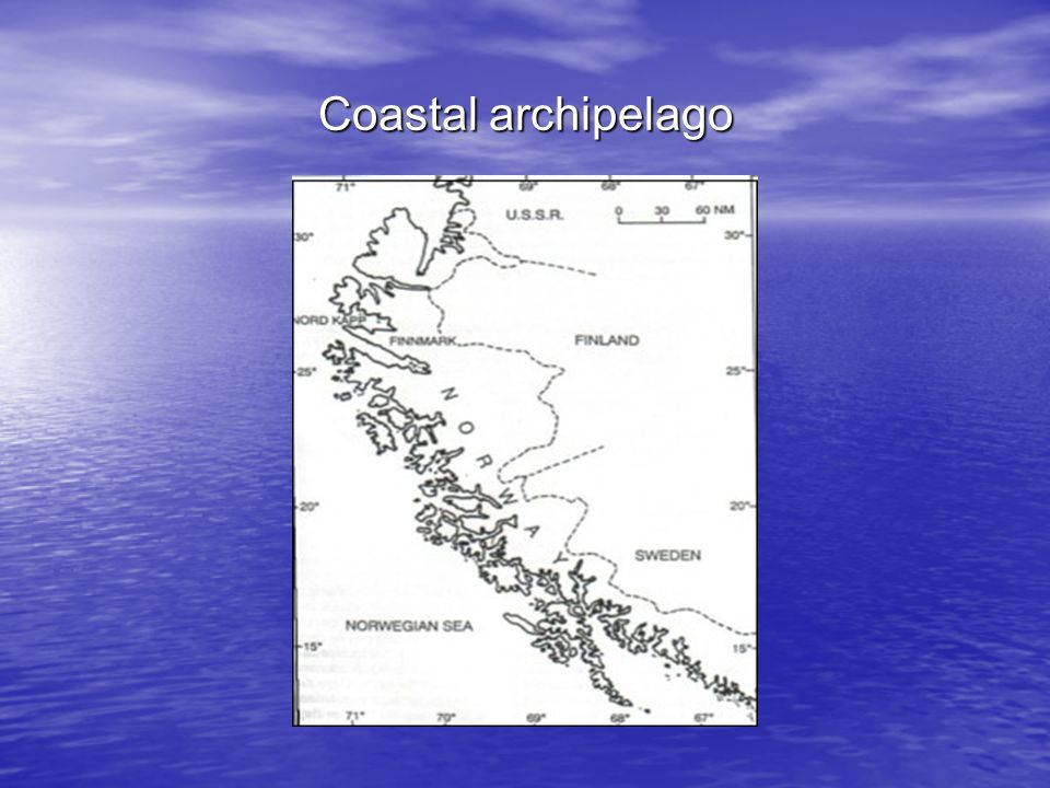 Coastal archipelago