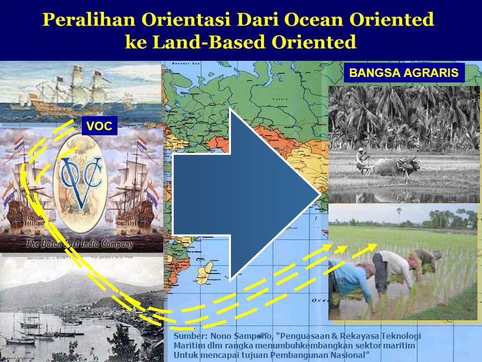 Peralihan Orientasi Dari Ocean Oriented ke Land-Based Oriented