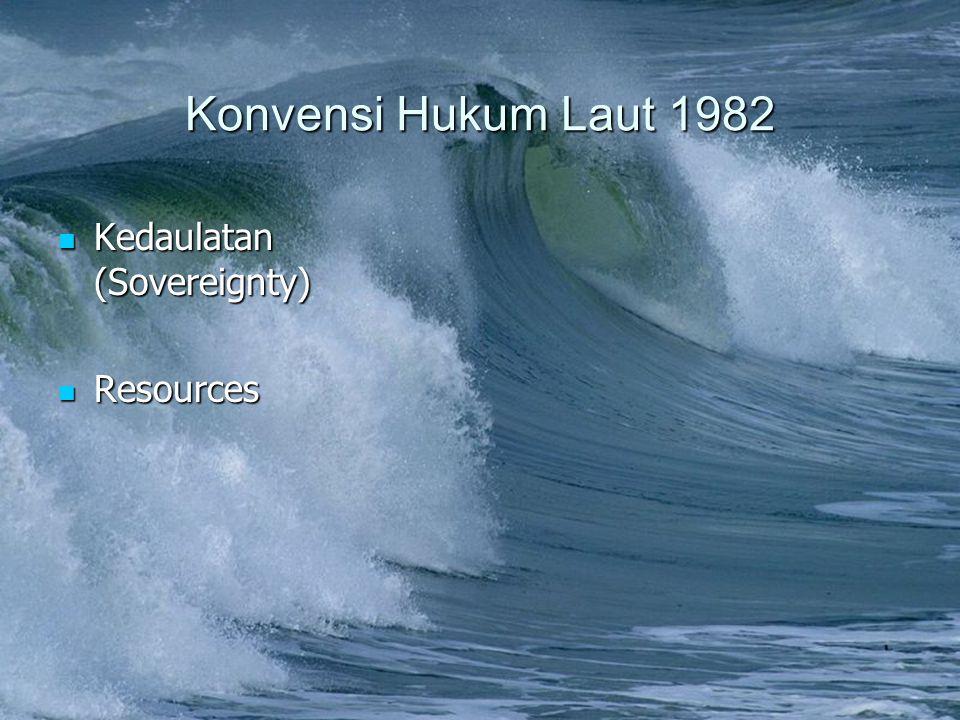 Konvensi Hukum Laut 1982 Kedaulatan (Sovereignty) Resources