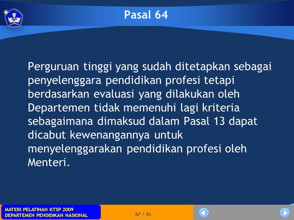 Pasal 64