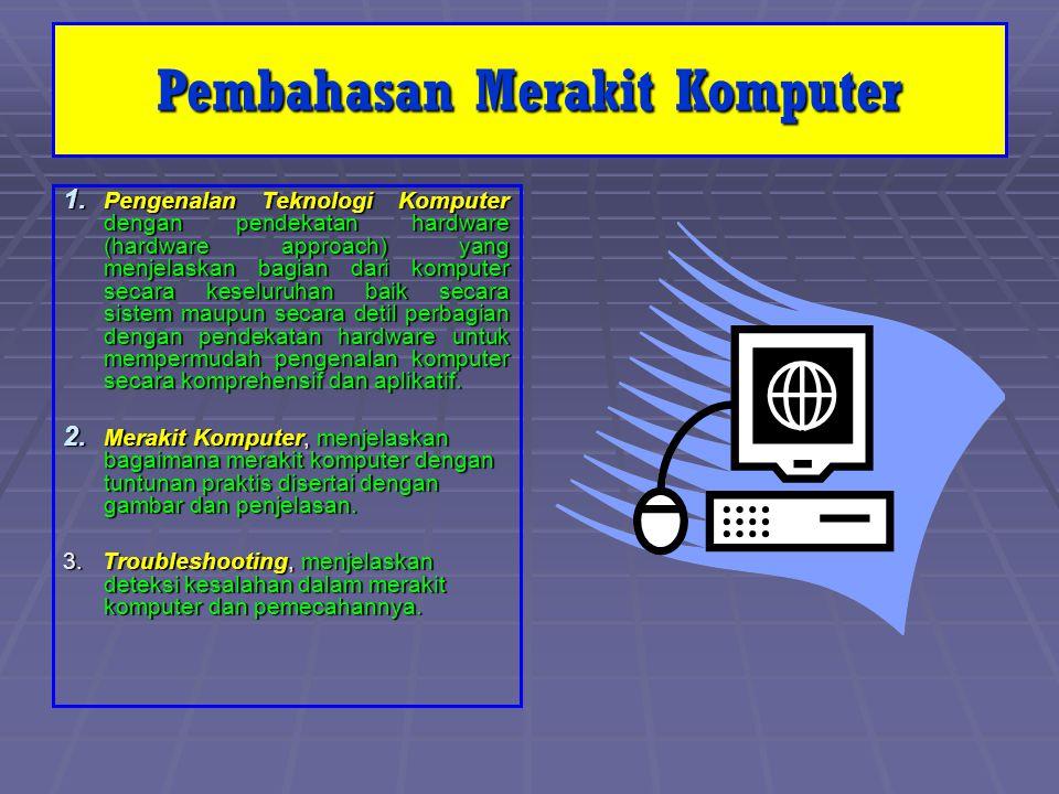 Pengenalan Hardware Komputer