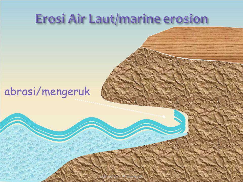 Erosi Air Laut/marine erosion