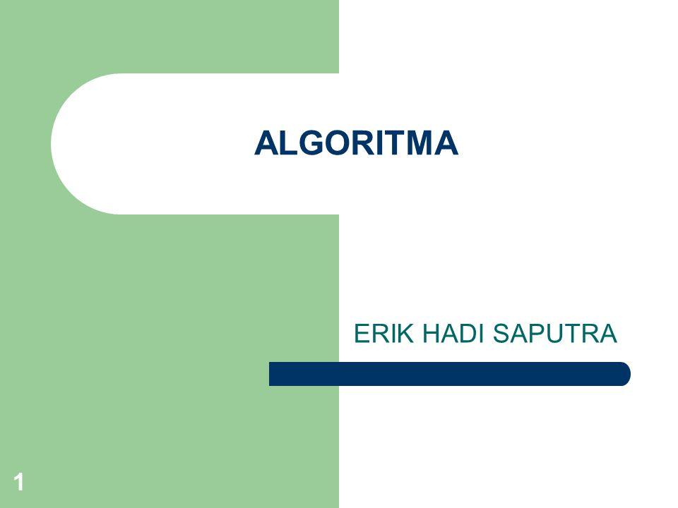 ALGORITMA ERIK HADI SAPUTRA