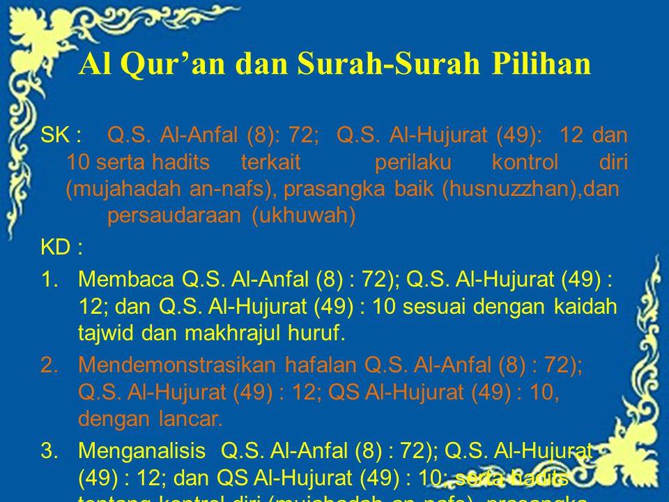 Al Qur'an dan Surah-Surah Pilihan