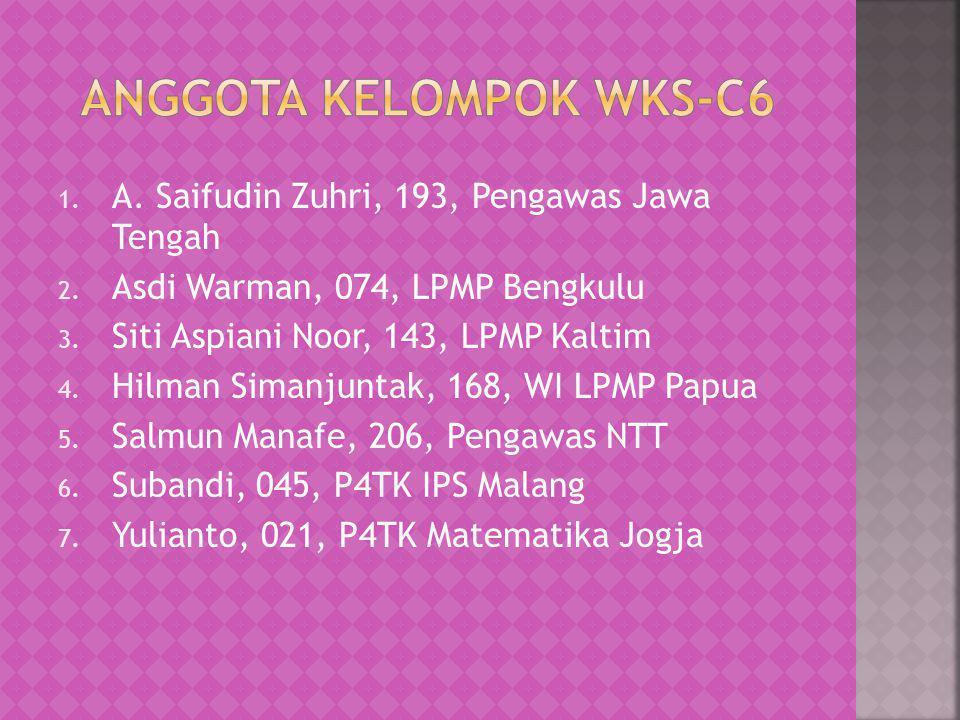 Anggota Kelompok WKS-C6