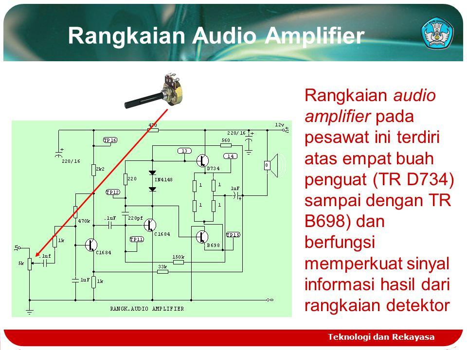 Rangkaian Audio Amplifier