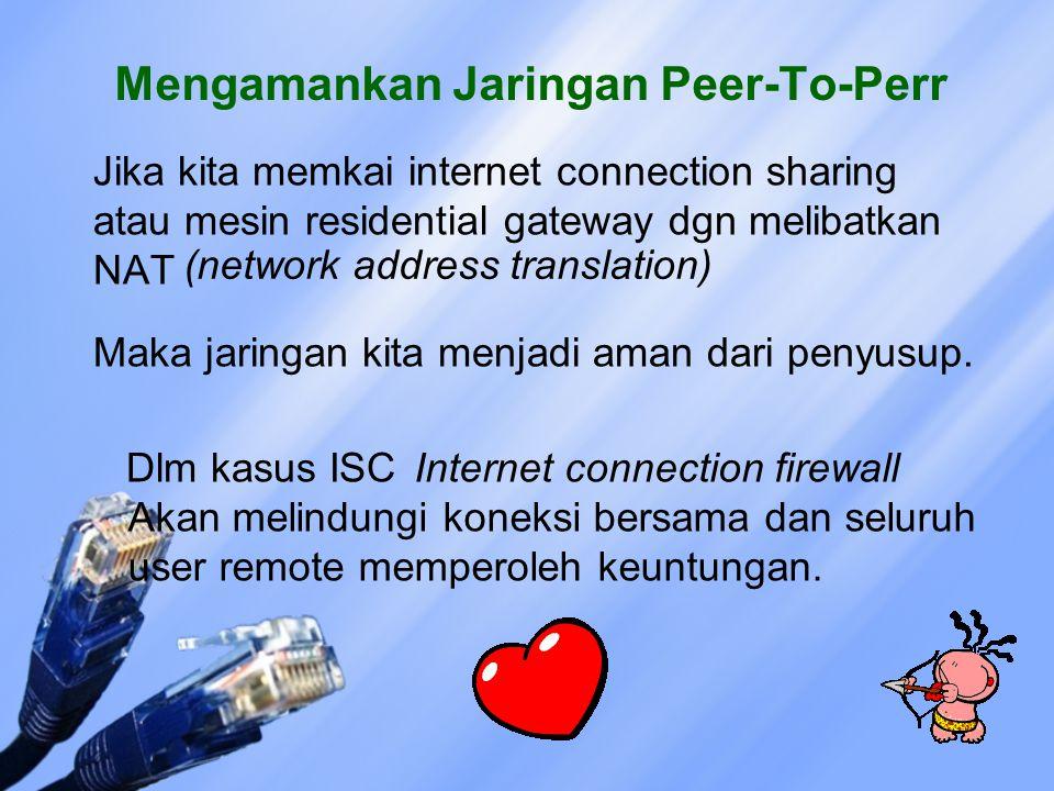 Mengamankan Jaringan Peer-To-Perr