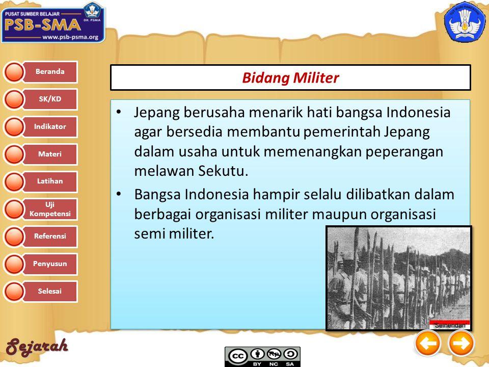Bidang Militer