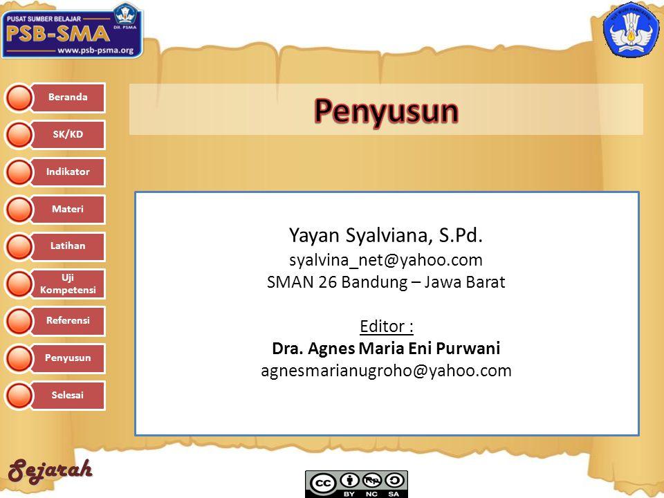 Dra. Agnes Maria Eni Purwani