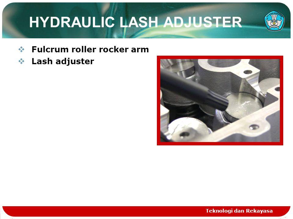 HYDRAULIC LASH ADJUSTER