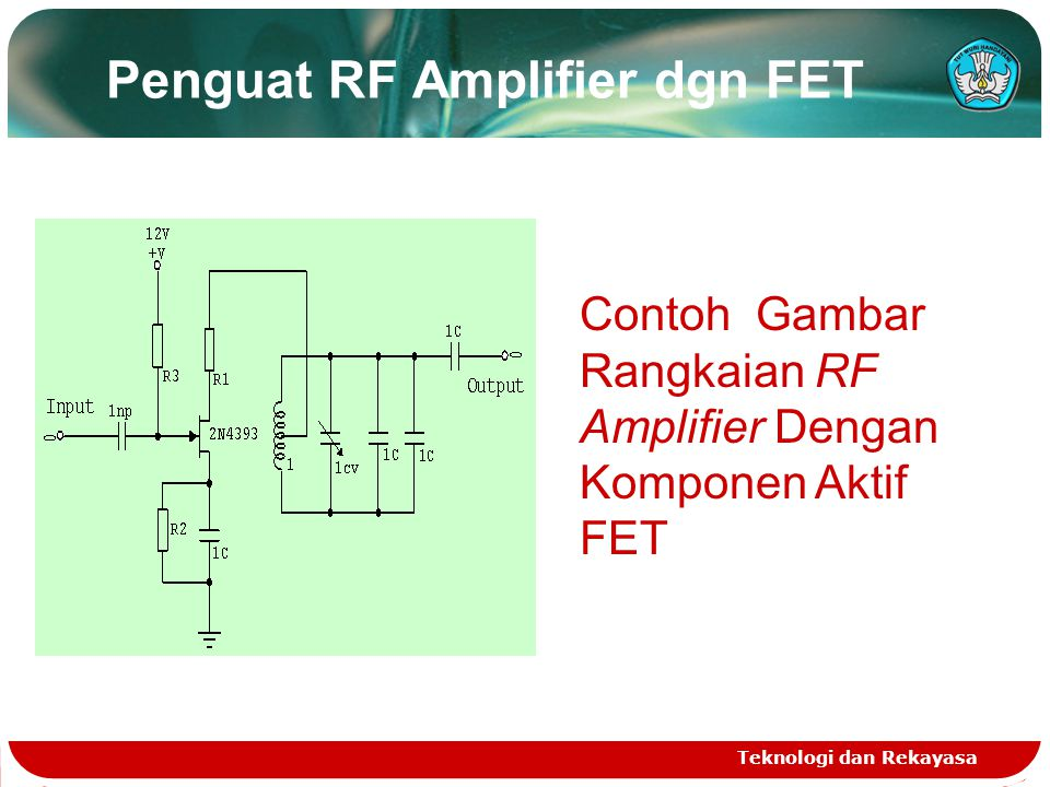 Penguat RF Amplifier dgn FET