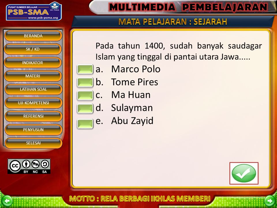 Marco Polo Tome Pires Ma Huan Sulayman Abu Zayid