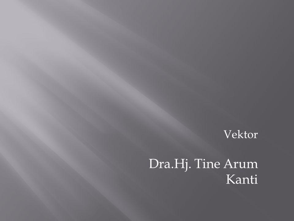 Vektor Dra.Hj. Tine Arum Kanti