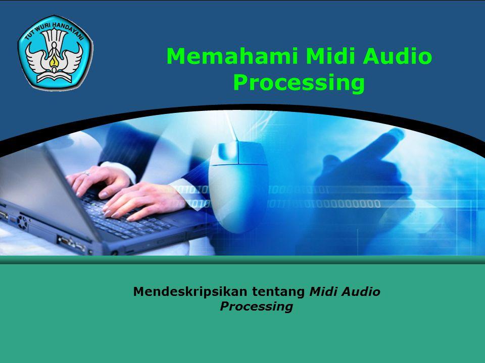 Memahami Midi Audio Processing