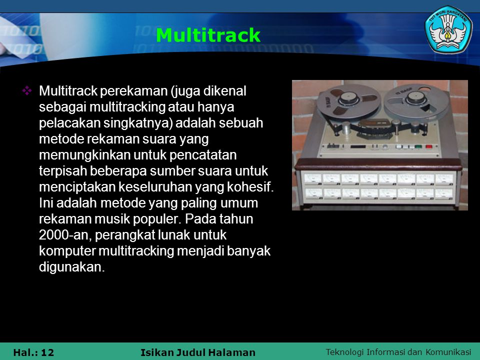 Multitrack