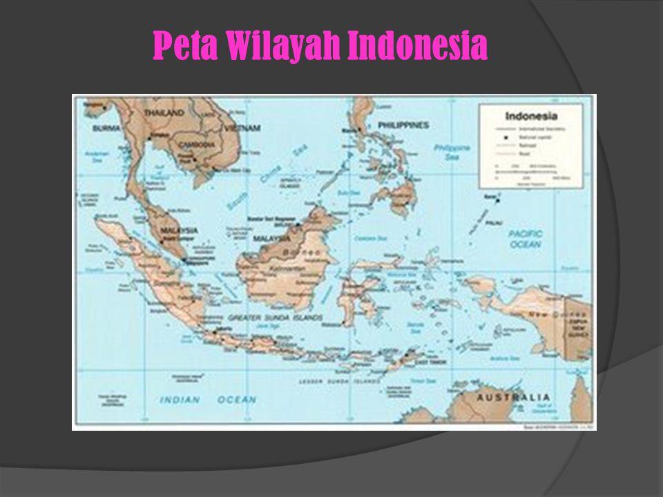 Peta Wilayah Indonesia