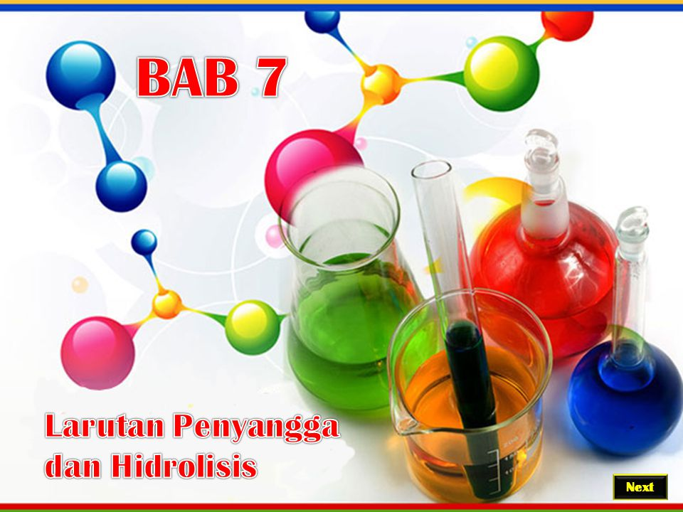BAB 7 Larutan Penyangga dan Hidrolisis Next