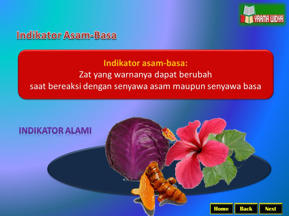 Indikator Asam-Basa Indikator asam-basa: