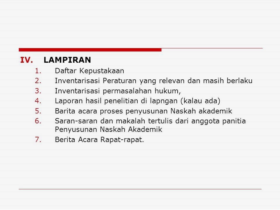 LAMPIRAN Daftar Kepustakaan