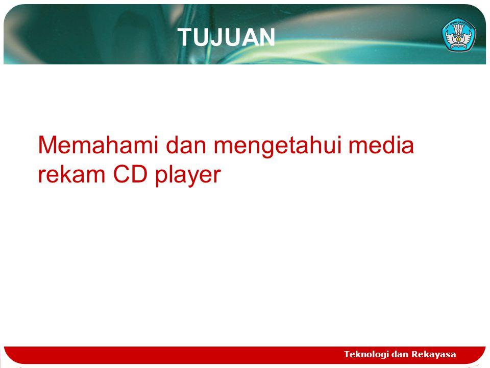 Memahami dan mengetahui media rekam CD player