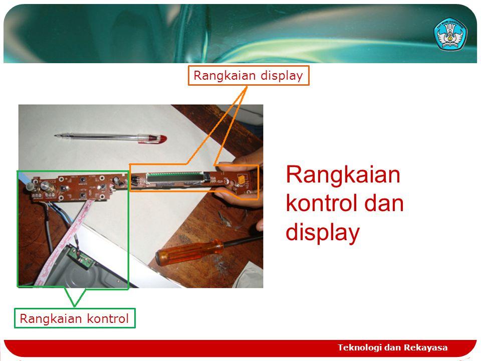 Rangkaian kontrol dan display