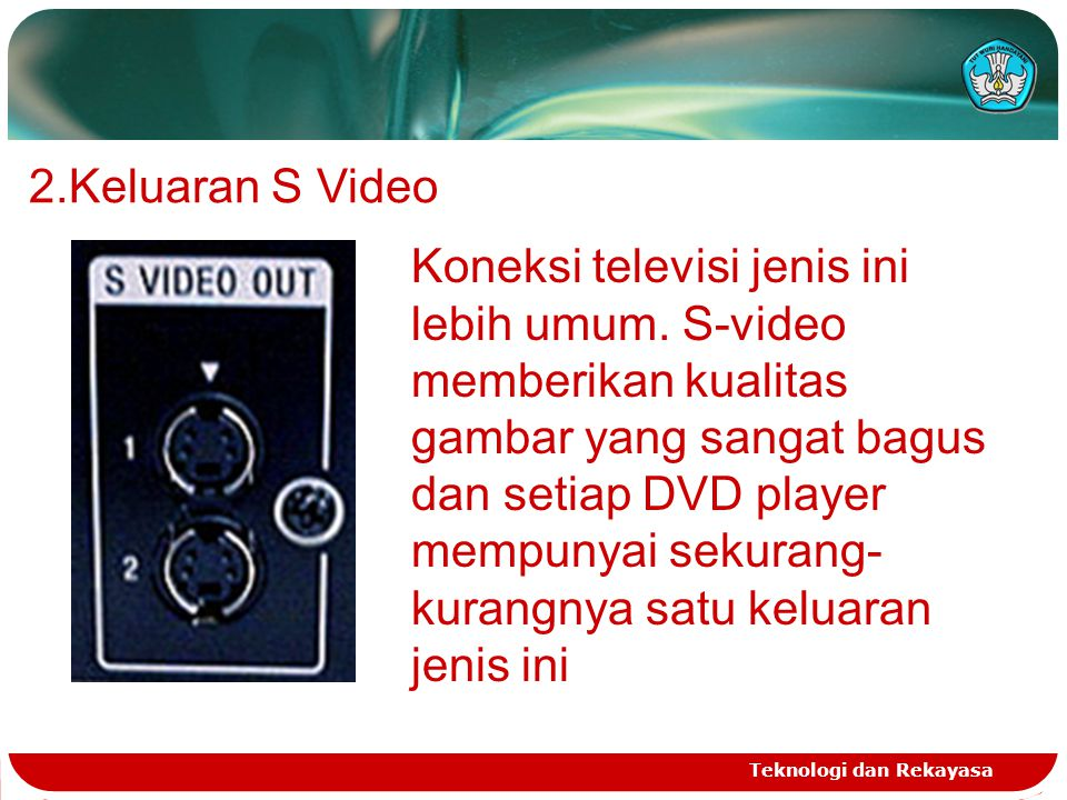 Keluaran S Video