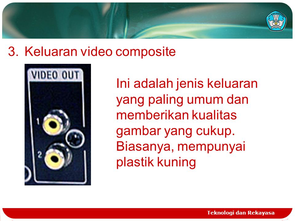 Keluaran video composite