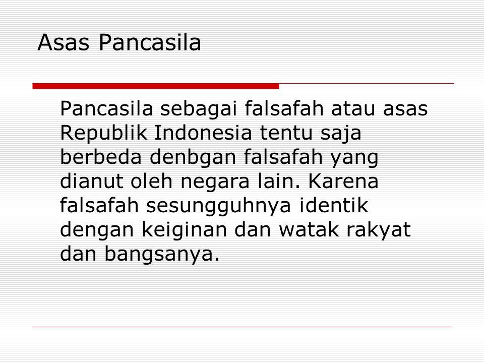 Asas Pancasila