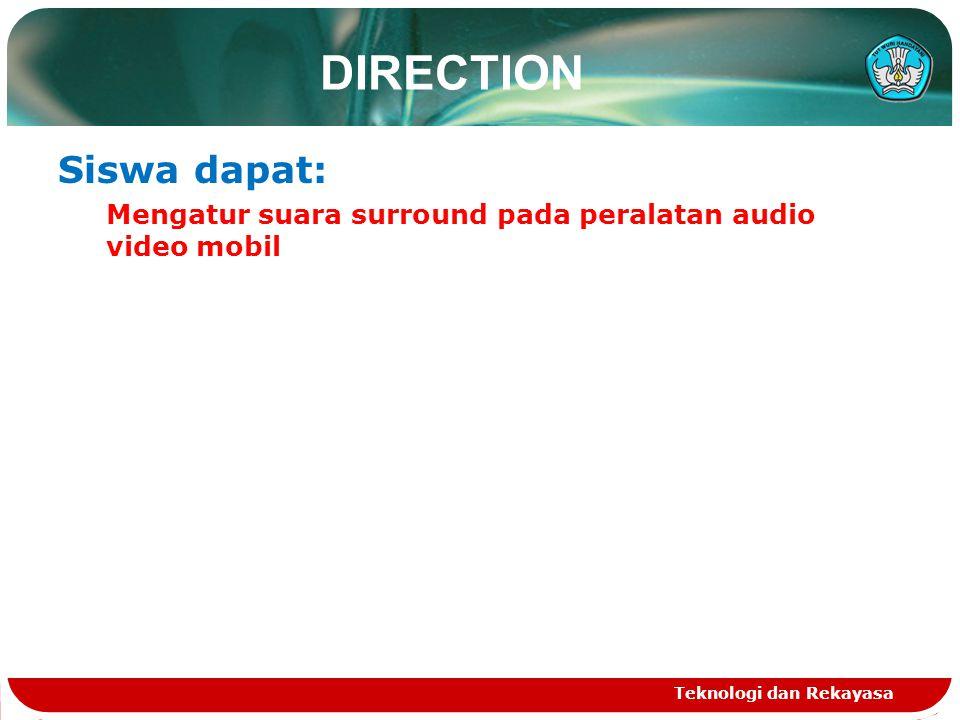 DIRECTION Siswa dapat:
