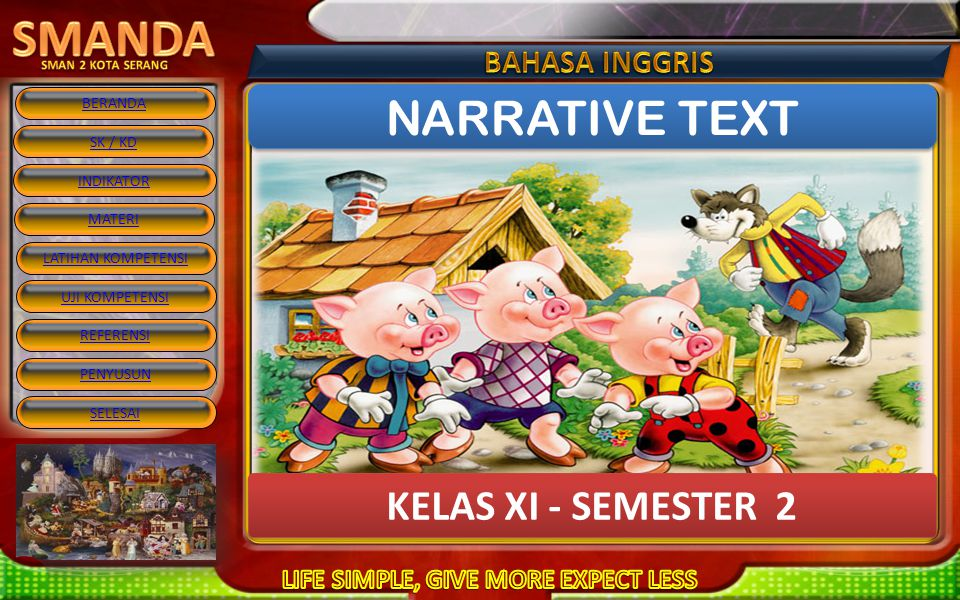 NARRATIVE TEXT KELAS XI - SEMESTER 2