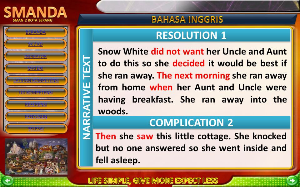 RESOLUTION 1 COMPLICATION 2